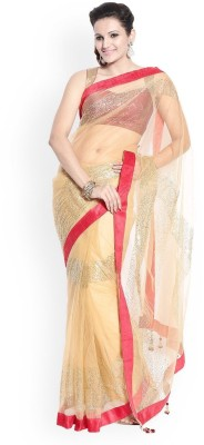 Tk Fashion & Printz Printed Fashion Net Sari