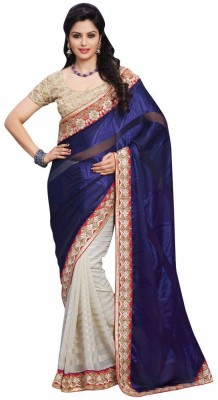 Mukta Mishree Exports Embriodered Fashion Georgette, Brasso, Georgette Sari