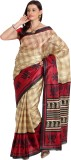 Satrang Printed Daily Wear Art Silk Sare...