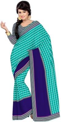 Vatsal Silk Mills Printed Daily Wear Georgette Sari