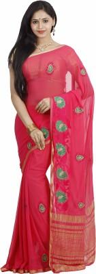nalliee Embriodered Bollywood Chiffon Sari