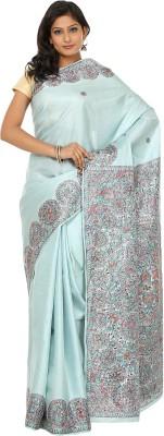 Janaknandini Hand Painted, Self Design Madhubani Pure Silk Sari