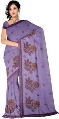 Kothari Floral Print Banarasi Cotton Sari