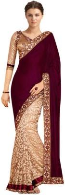 Sabsesasta Self Design Fashion Georgette Sari
