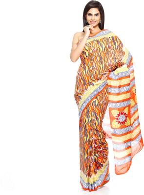 Aapno Rajasthan Printed Daily Wear Cotton Sari