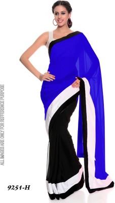 Kbproviders Self Design Bollywood Net Sari