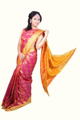 Silktek Woven Mysore Silk Sari