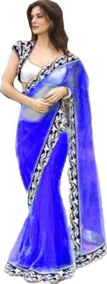 Fashion And Hub Self Design Bollywood Net Sari