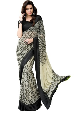 Varnilifestyle Self Design Fashion Georgette Sari