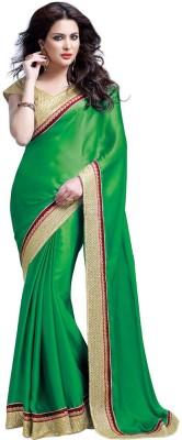 Desi Look Solid Bollywood Chiffon Sari