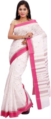 Samadhi Sarees Printed Chanderi Cotton Sari