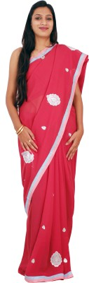 Shree Ji Solid Daily Wear Crepe Sari