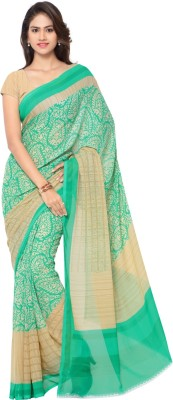Aagaman Fashion Printed Fashion Art Silk Sari