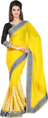 Nihanth Embriodered Bollywood Georgette Sari