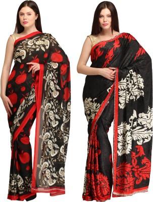 Skyline Trading Self Design Daily Wear Georgette, Jacquard Sari