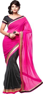 Archishmathi Solid Bollywood Chanderi Sari