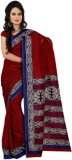 Anuraag Printed Fashion Pure Crepe Sari