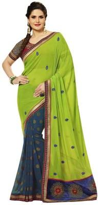 Looks & Likes Embriodered Fashion Handloom Georgette Sari