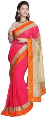 Hari Krishna Enterprise Self Design Bollywood Georgette Sari