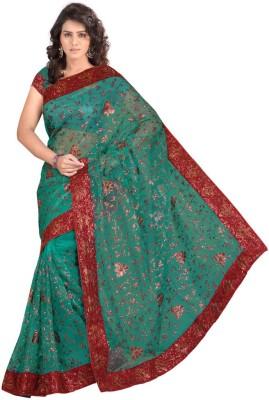 Viva N Diva Embriodered Fashion Net Sari