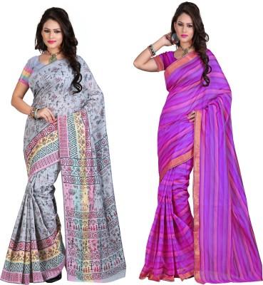 StyleOn Fashion Plain Bollywood Silk Sari