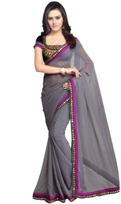 LIZAREFASHION Self Design Daily Wear Georgette Sari