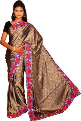Jagadamba Self Design Fashion Jacquard Sari