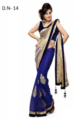 Mamta Synthetic Embriodered Bollywood Handloom Synthetic Sari