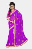 Chirag Sarees Embroidered Fashion Chiffo...