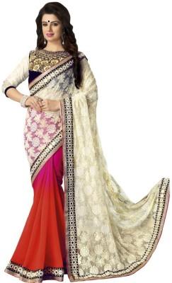 Kintu Designs Pvt. Ltd. Self Design Fashion Jacquard Sari