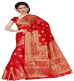 Hardik Printed Assam Silk Art Silk Sari ...
