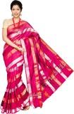 Pavechas Striped Banarasi Silk Cotton Bl...