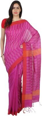 Slice of Bengal Woven Jamdani Silk Cotton Blend Sari