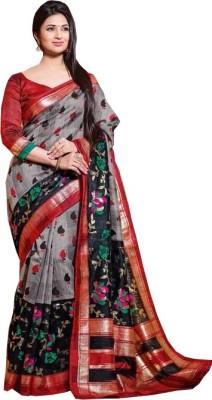 Preet Creations Printed Fashion Art Silk Sari