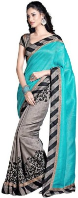 Sarovar Sarees Printed Bhagalpuri Handloom Art Silk Sari