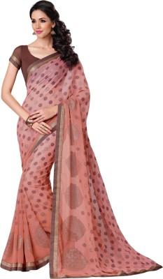 Triveni Self Design Fashion Brasso Sari