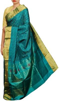 Unnati Silks Woven Rajkot Pure Silk Sari