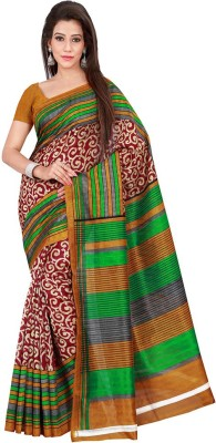 G Creation Printed Fashion Silk Sari