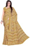 Aaradhya Fashion Printed Bandhej Handloo...