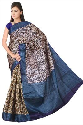 Eagle Fashion Self Design Rajshahi Handloom Georgette Sari