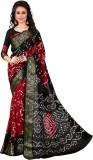 sai fabrics Self Design Bandhani Art Sil...