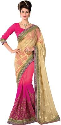 Aesha Embellished Fashion Brasso Sari