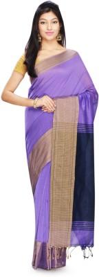 Rudrakshhh Dhakai Embriodered Jamdani Handloom Silk Cotton Blend Sari
