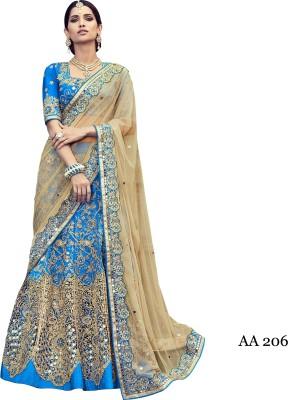 sahaj Embellished Rajshahi Net, Dupion Silk Sari