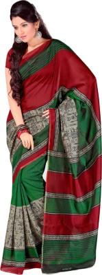 Urban Vastra Graphic Print Bhagalpuri Dupion Silk Sari