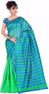 bhargav sarees Self Design Bhagalpuri Chiffon Sari