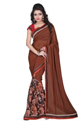 Heart & Soul Printed Fashion Chiffon Sari