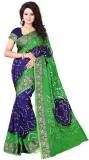 Dealsure Printed Bandhani Art Silk Saree...