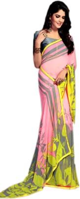 Ganghs Printed, Digital Prints Bollywood Georgette Sari