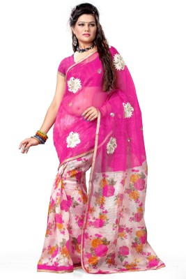 Aashita Printed Daily Wear Net Sari